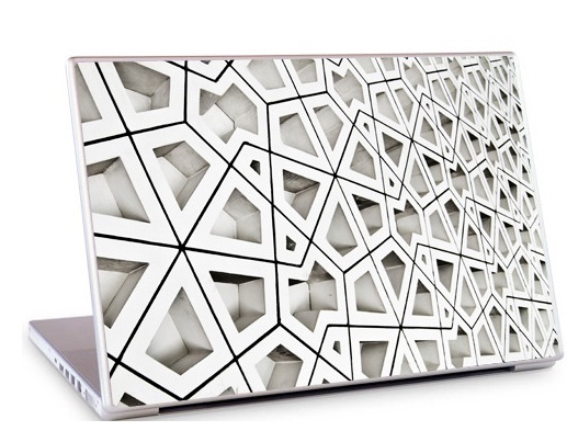 Arabesque1 Laptop Skin
