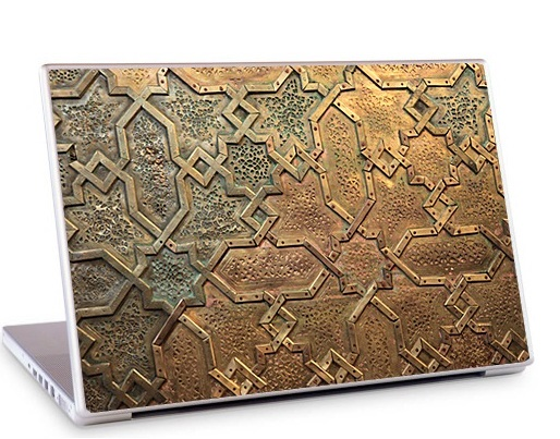 Arabesque2 Laptop Skin