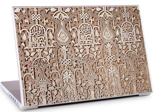 Arabesque3 Laptop Skin
